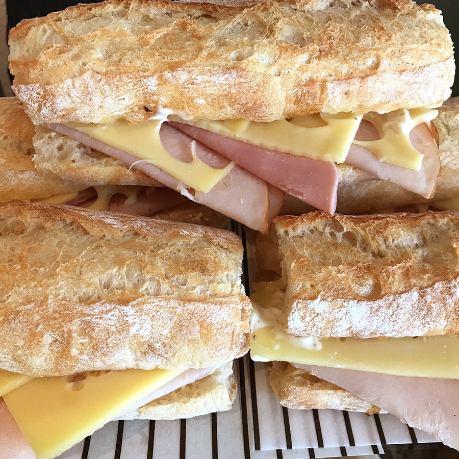 Turkey Emmental Sandwich
